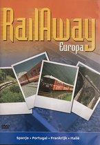 Rail away Europa Spanje Portugal Frankrijk Italie