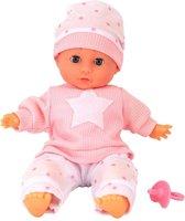 Babypop met Geluid 30 cm