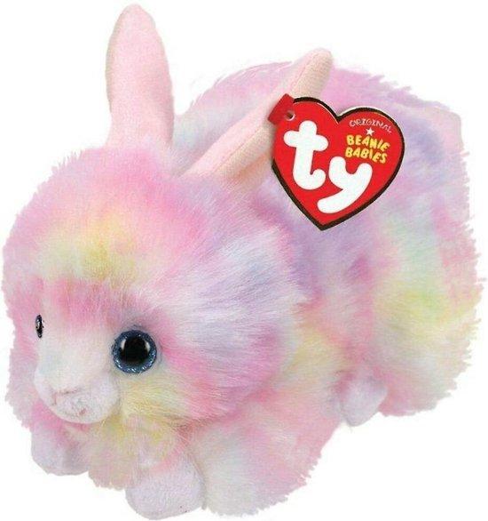 Afbeelding van het spel TY Beanie Babies Knuffel Konijn Sherbet Pastel