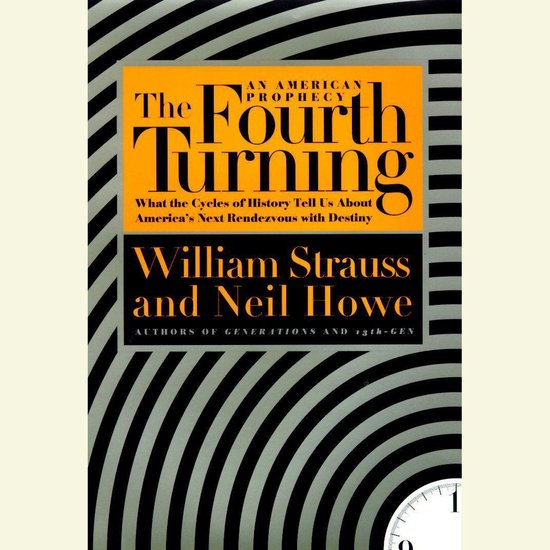 Boek cover The Fourth Turning van William Strauss (Onbekend)