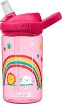 Camelbak Eddy Kids - Drinkfles - 400 ml - Transparant