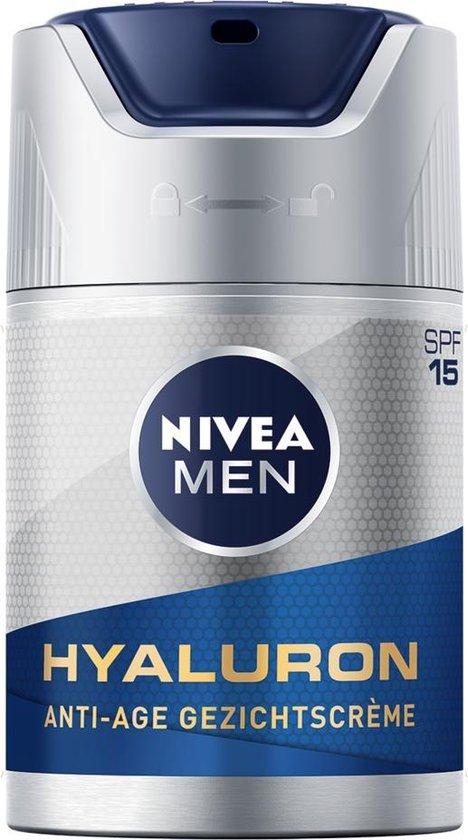 NIVEA MEN Anti-Age Hyaluron Gezichtcrème SPF 15 - 50ml