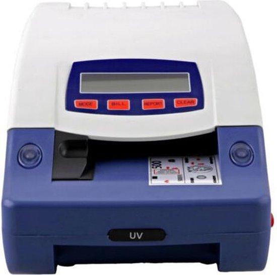 2-in-1 geldtelmachine én valsgelddetector- geldteller / biljettelmachine - telmachine + valsgelddetectie voor briefgeld