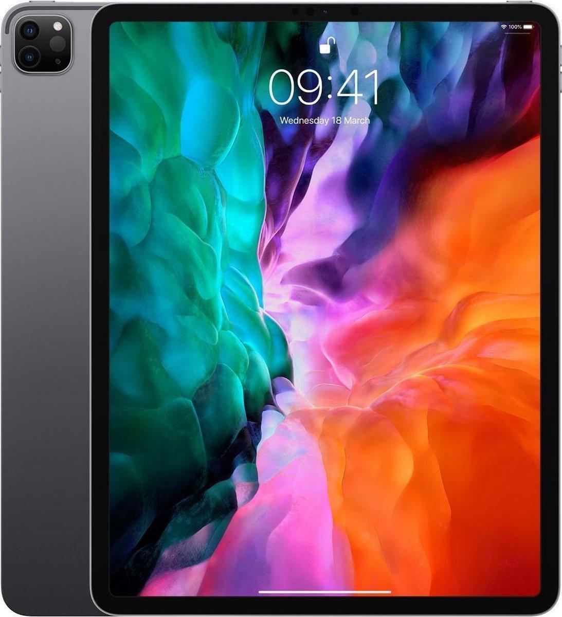 Apple iPad Pro (2020) refurbished door Adognicosto - A Grade (zo goed als nieuw) - 12.9 inch - WiFi - 256GB - Spacegrijs