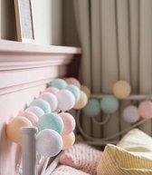 Cotton Ball Lights Regular lichtslinger pastel - Pastel 10