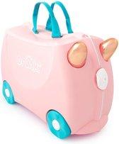 Trunki Ride-On Handbagage koffer 46 cm - Flamingo Flossi