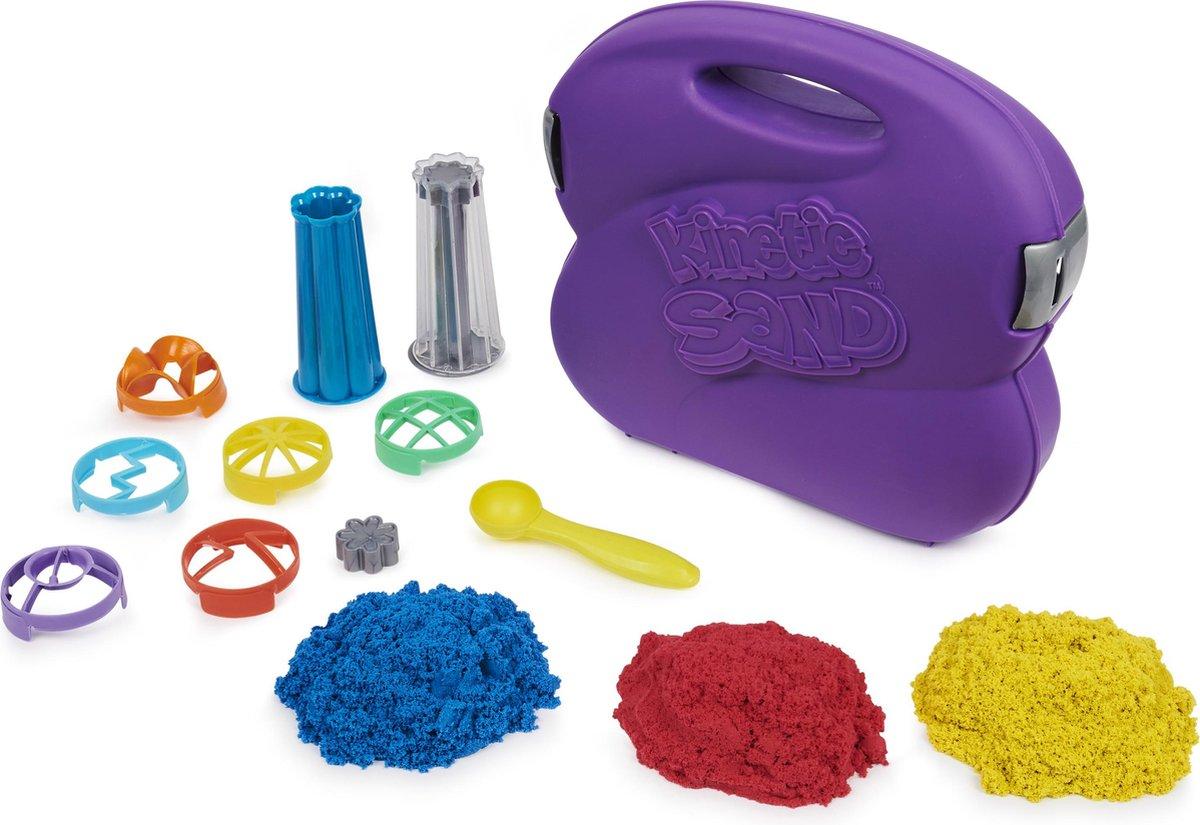 Kinetic Sand - Speelset 'Sandwhirlz' - 3 kleuren - 907 g