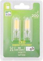 G9 led lampen, insteeklampen G9 led 2 watt 200 lumen