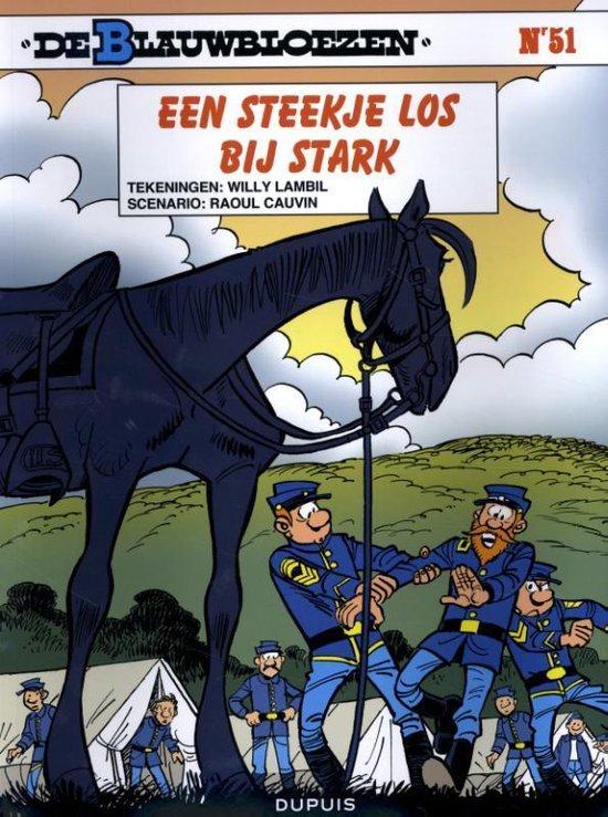 Afbeelding van het spel Stripboeken De Blauwbloezen - Een steekje los bij Stark - Nummer 51