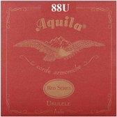 Aquila Tenor Ukelele Snaren - LOW G - Red Series - 88U - Rood