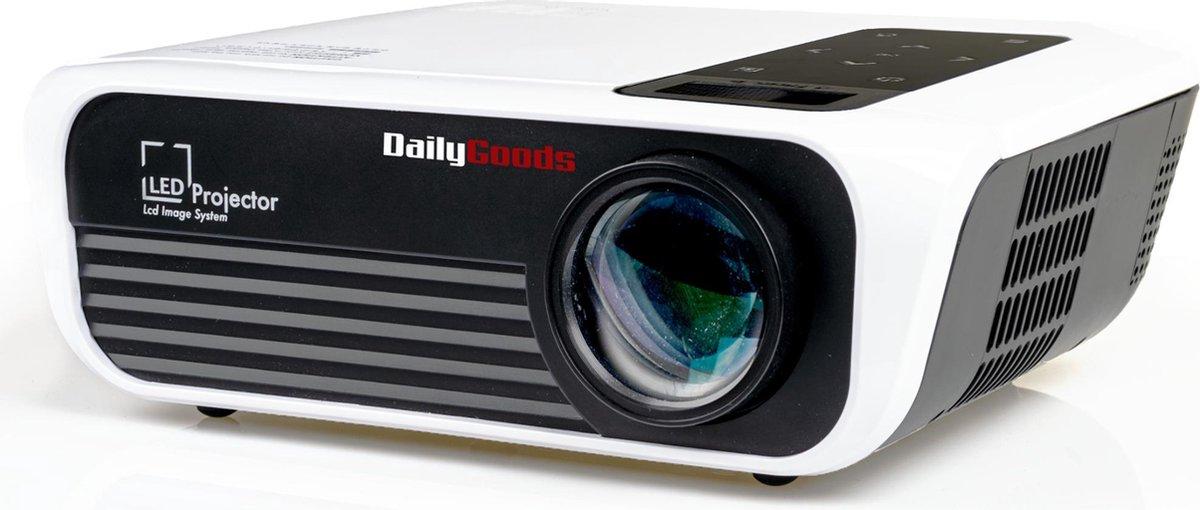 Dailygoods Beamer - Projector - 5000 Lumen - Full HD  - WIFI - digitale keystone