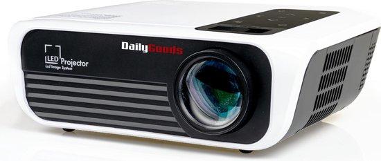 Dailygoods Beamer - Projector - 5000 Lumen