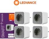 Ledvance Smart+ Zigbee Plug | EU | 4 Stuks | Voordeelverpakking