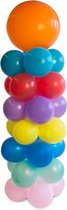 Pakket - Ballonnen pilaar met pin - 1,4 meter