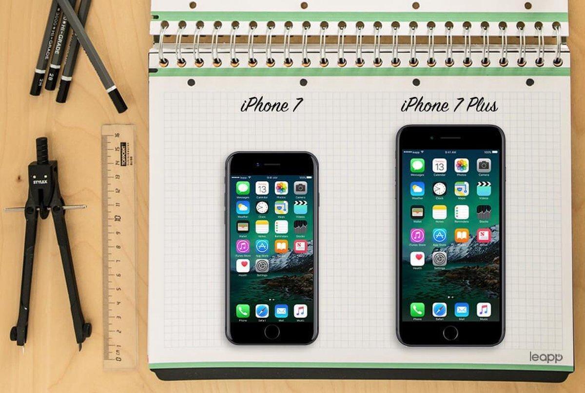 Apple iPhone 7 - Refurbished door Leapp - A grade (Zo goed als nieuw) - 32GB - Zwart