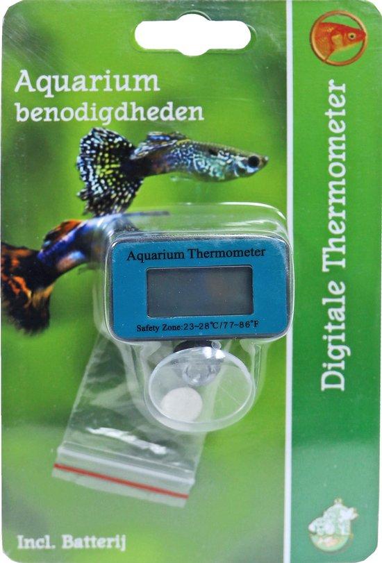 Aquarium thermometer - digitaal inclusief batterij