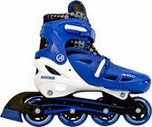 AMIGO Racer Inlineskates - Skeelers voor jongens en meisjes - Blauw/Wit - Maat 30-33