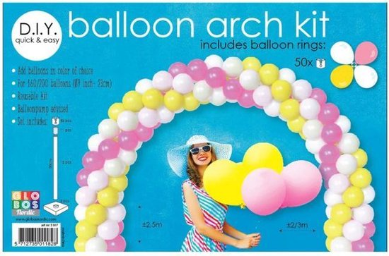 Set voor een Ballonboog