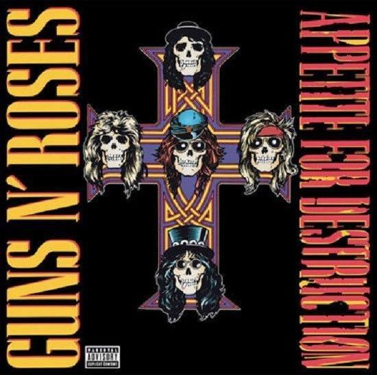 Appetite for Destruction (LP) - Guns N Roses