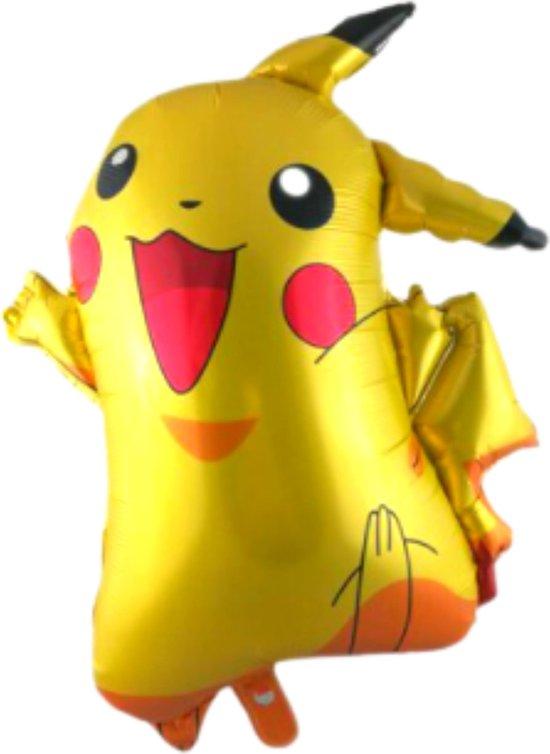 Pikachu Ballon - Pokemon - 77 x 65 cm - Pokemon Speelgoed - Pokemon Ballon - Ballon Groot - Ballon Film