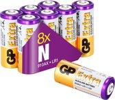 GP Extra Alkaline batterijen N Lady LR1 batterij 1.5V - 8 stuks