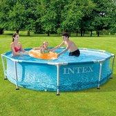 Relaxwonen - Zwembad - Intex - Rond - Metalen frame - 305x76 cm