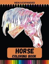 Horse Coloring Book (New & Expanded)