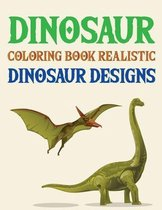 Dinosaur Coloring Book Realistic Dinosaur Designs