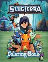 Slugterra Coloring Book