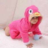 Baby Badjas Flamingo | Badjas Baby | Baby Badcape | Badjas Kinderen