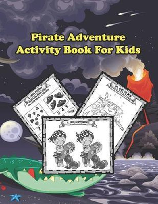 Pirate Adventure: Activity Book For Kids