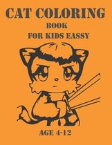 Cat Coloring Book For Kids Eassy