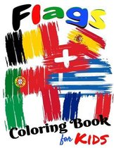 Flags Coloring Book For Kids