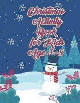 Christmas Activity Book for Kids Ages 3-8