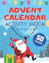 Advent Calendar Activity Book for Kids Ages 4-8