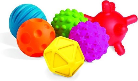 Afbeelding van het spel Edushape Baby Sensory Balls - NEW