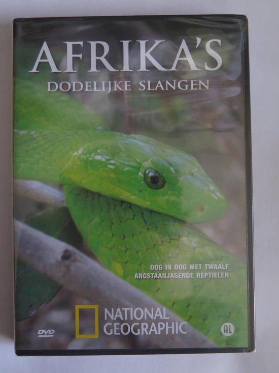 Cover van de film 'Afrika's Dodelijkste Slangen'