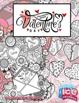 Valentines day coloring book love coloring books for adults