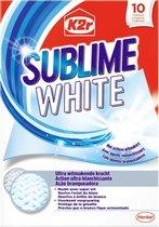 K2R Sublime White 10 stuks