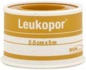 Leukopor Zeer gevoelige huid - Pleisters - 5 m x 2.5 cm - 1 rol