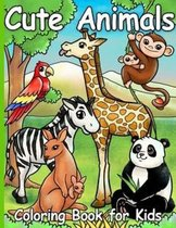 Cute Animals coloring book for kids: Preschool Coloring Book
