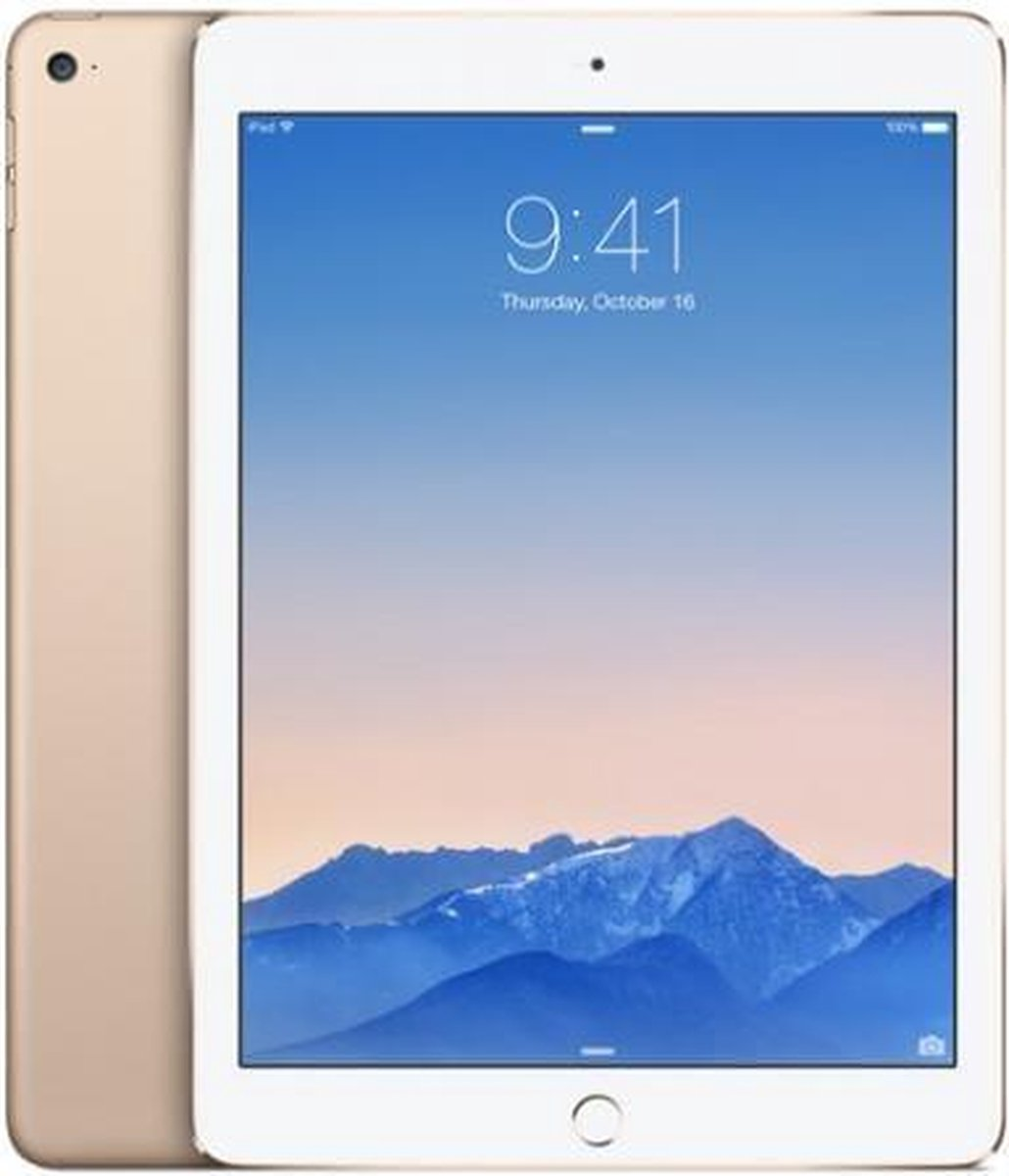 Apple iPad Air 2 128GB Wifi goud - Zo goed als nieuw - 2 Jaar Garantie