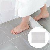 Anti Slip Grip - Binnenshuis - Heb grip op uw badkamer! - 12 stuks - Douche/bad/trap - 2cm x 20cm - Zelfklevend - Transparant - Gratis Verzending