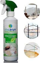 6 flessen - ProfiBright Consument - Glasreiniger Profi10 - Geen waas - Streeploos - Geschikt voor beeldschermen ed - Dierproefvrij - 6x 500 ml