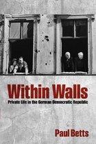Boek cover Within Walls van Paul Betts