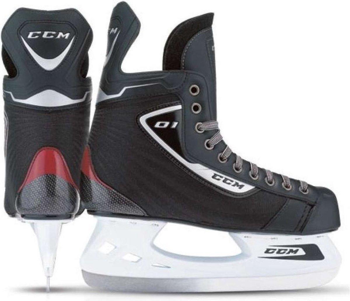 CCM Hockey Skates - SK U +01 - Zwart - Maat 40