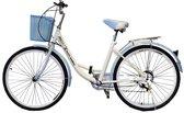 Sierlijke Dames Stads fiets - Wit