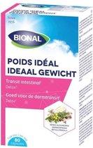 BIONAL Ideaal Gewicht – Afslanken – Voedingssupplement met senna en kattedoorn - 80 capsules