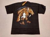Rock Eagle Shirt: Twee Bruine Paarden (Medium)