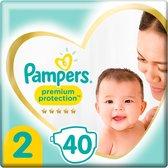 Pampers Premium Protection Luiers - Maat 2 - 40 stuks